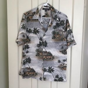 SALE! 5/$25 Croft & Barrow Tropical Hawaiian Shirt